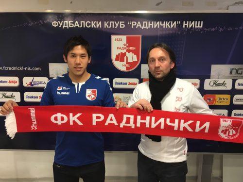 ●モンテネグロ1部で活躍した野間涼太、セルビア1部への移籍が決定