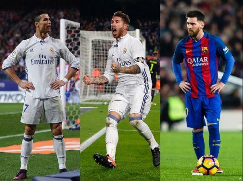 UEFA年間ベスト11発表…C・ロナ&メッシを抑えS・ラモスが最多得票!