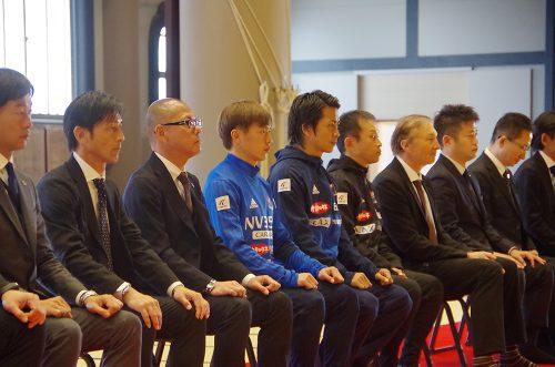 ●横浜FMが総持寺で必勝祈願、新主将就任の齋藤学「ピッチでの表現を大事に」