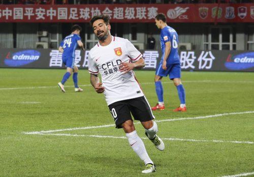 ●中国適応に苦しむラベッシ、1年間ノーゴールに非難殺到「サッカー界最大の支出」