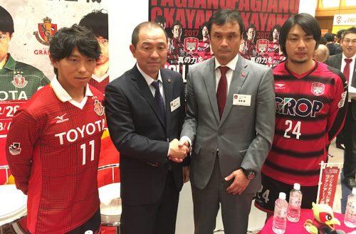 向上心にあふれる名古屋のFW佐藤寿人「まだまだ学んで吸収したい」
