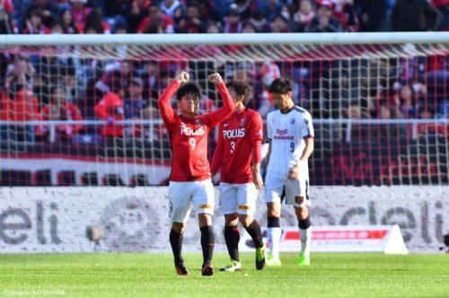 20170304 J1 Urawa vs SOsaka Kiyohara20