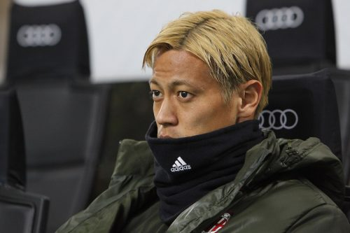 ●ミラン本田がインフルで練習欠席…代表メンバー発表直前で招集にも影響か