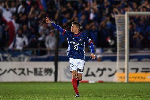 ●DAZNがJ1週間ベスト5ゴールを発表…横浜FMバブンスキーの強烈ボレー弾など