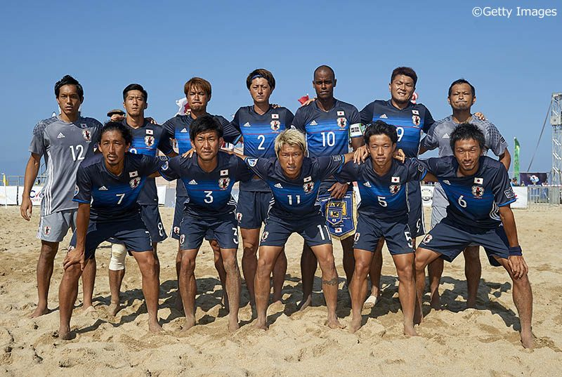 ビーチサッカー日本代表、アジア...