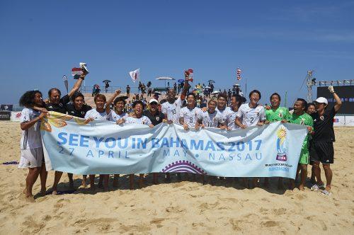 ●ビーチサッカー日本代表、ドイツと親善試合で激突…4月15、16日開催
