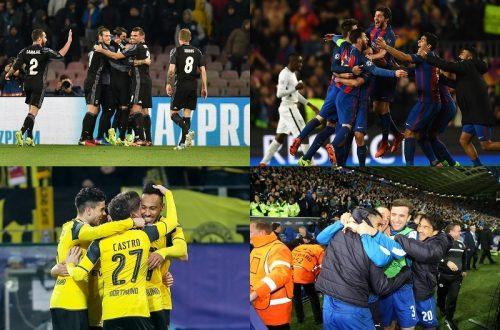 ●CLベスト8が出揃う…王者レアルらスペイン勢が最多3クラブ、初出場レスターも8強