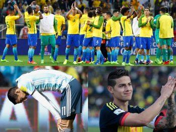 ブラジル代表、アルゼンチン代表
