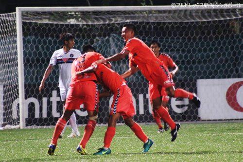 ●アルビ新潟S、負傷者や退場者を出しながら大量4得点で今季6勝目/Sリーグ第7節