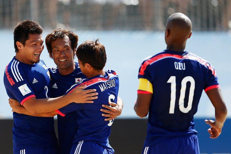 W杯に臨むビーチサッカー日本代...