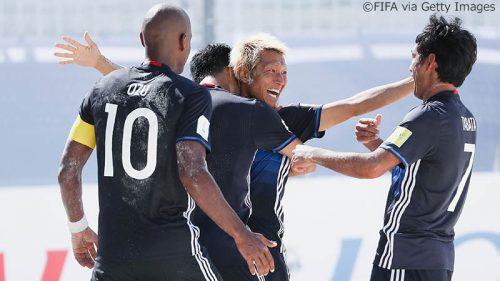 ●ビーチサッカーW杯初戦、日本代表が後藤崇介の5得点などで欧州王者を撃破し好発進