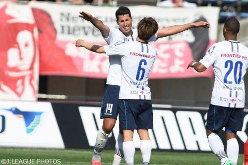 ●ウェリントン弾で福岡が東京Vを下す…イバがハットの横浜FCが首位浮上/J2第10節