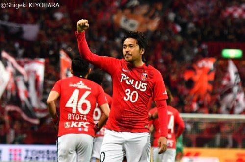 ●浦和、今季最多7得点で仙台を下す…興梠は前半でハットトリック達成
