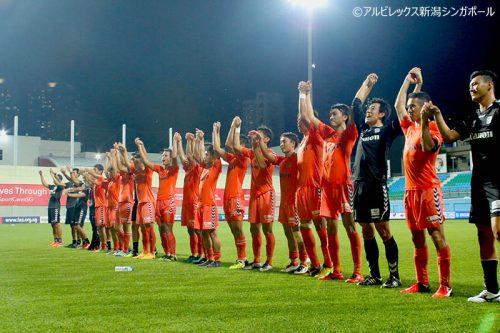 ●アルビ新潟Sが中井涼太の一撃でゲイラン守備網を攻略、今季7勝目