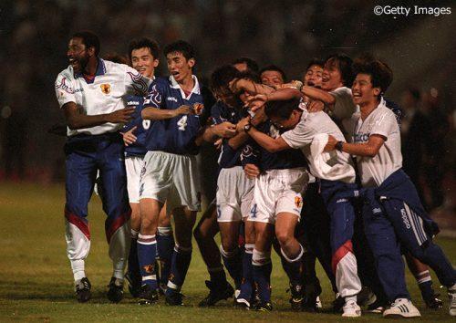 """●日本代表の未来を切り開いた""""ジョホールバルの夜""""から20年、ロシアW杯アジア最終予選突破へいまこそひとつになる時"""