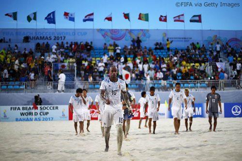 ●ビーチサッカー日本代表、ブラジルに敗れ大会を終える「ベスト8まで行けずに悔しい」