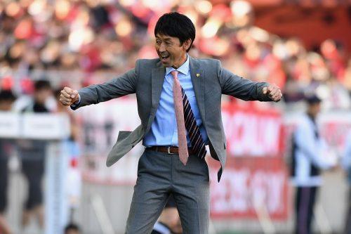 ●選手たちの健闘を称える鹿島・石井監督「90分間集中力高く戦ってくれた」