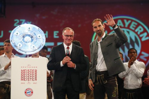 Bayern Muenchen - German Championship Party