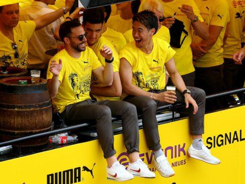 ●「色々な葛藤があった1年」…香川が今季を総括「優勝後ははしゃいじゃいました」