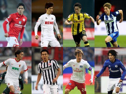 ●大迫が最多7ゴール…アシストも香川と並び最多タイ/ブンデス日本人選手