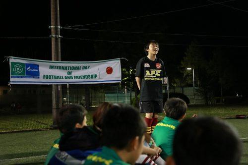 ●コンフェデ杯と同時ロシア開催 世界64カ国の12歳出場大会に日本から参加の中原くんが決意表明