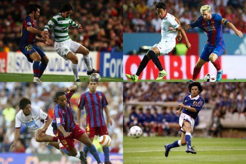 ●バルサに挑んだ日本人選手たち…乾貴士の2ゴールに至るまでの歴史を振り返る