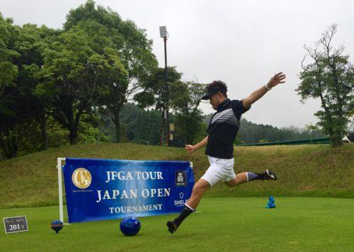 EXILE USAがフットゴルフ大会出場「奥深さを感じた。またチャレンジしたい」
