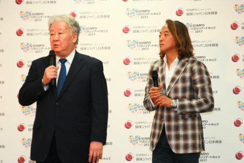2年連続、パラリンアートカップが開催…審査員のセルジオ氏「選ぶ難しさ」