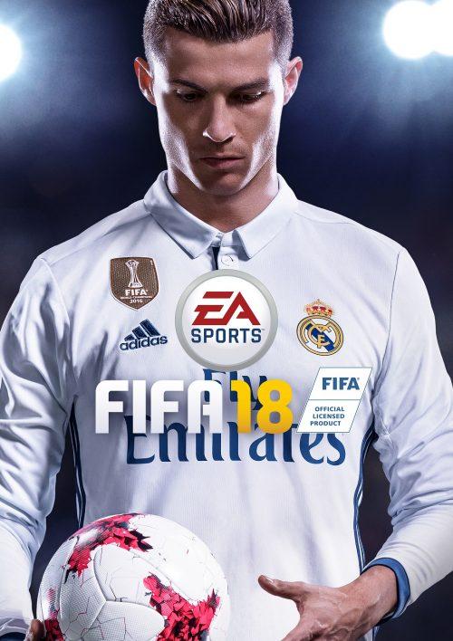 ●シリーズ最新作『FIFA 18』は9月29日発売、カバーを飾るのはC・ロナウド