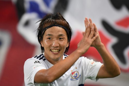 J初得点でファンへ恩返し…横浜FMの天野純「気付いたらゴール裏に」