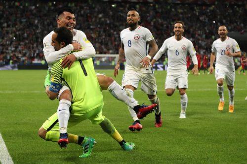 ●GKブラボがPK戦で驚異の3連続セーブ!…チリがポルトガル破り決勝進出