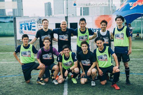 Team Kaoru Morioka and KING GEAR FC