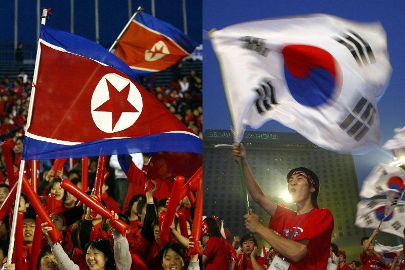 北朝鮮、韓国