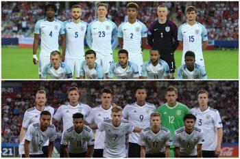 イングランド代表、ドイツ代表