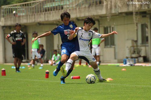 G大阪ユースが大量4得点を奪い大津に勝利/高円宮杯U-18プレミアリーグ