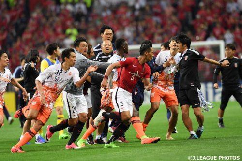 ●浦和と乱闘の済州、AFCからの制裁が決定…2選手の処分が大幅軽減に