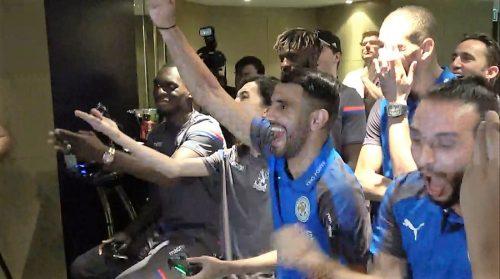 ●レスターMFマフレズはゲームもうまかった! リリース前の新作『FIFA 18』大会で優勝