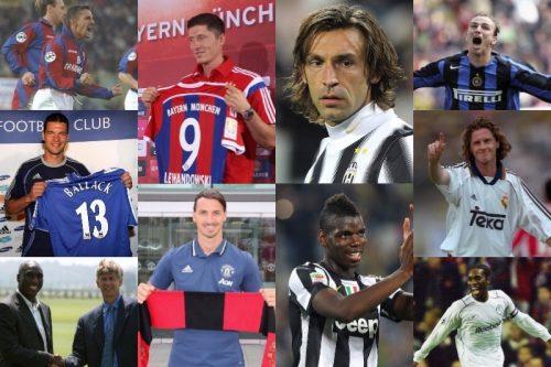●イブラやピルロ、レヴァンドフスキも…サッカー史に残る「最高のフリー移籍」