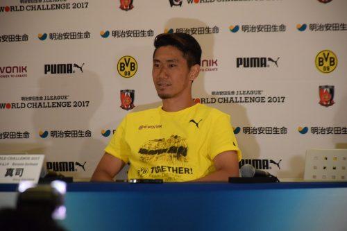 香川がドルトムントと2020年まで契約延長! 「新しい監督のもとで成長したい」