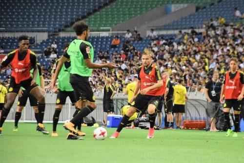 ●ドルトが浦和戦の前日練習実施…無料公開で約3500人のファンが観覧