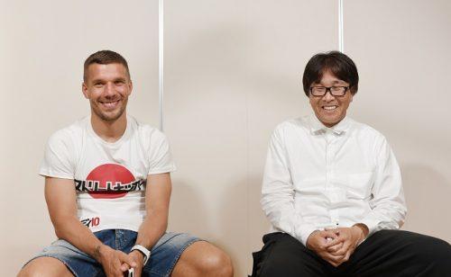 ポドルスキが高橋陽一先生に直談判…「僕を使ってシーズン物を描くのはどうでしょう?」