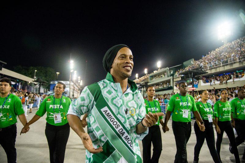 元ブラジル代表のロナウジーニョ