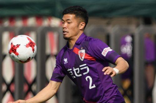 京都の湯澤聖人が練習で負傷、右大腿部肉離れ…今季8試合出場