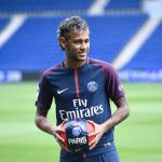 New signing player Neymar - Paris Saint-Germain