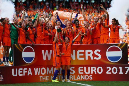 ●オランダが女子ユーロ初制覇!…母国優勝で国際大会初のタイトル獲得