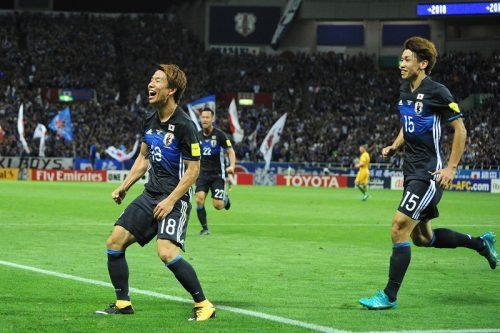 ●日本、6大会連続のW杯出場決定! 浅野&井手口弾で豪州にアジア最終予選初勝利