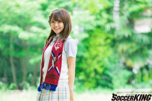【Jリーグと私】磯佳奈江(NMB48)~鹿島好きサッカー少女がアイドルへ~