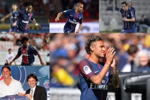 ●ネイマールも続けるか…PSGで活躍したブラジル出身のテクニシャン5名