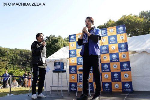 町田、今年も谷原章介さんの来場が決定! 来月15日の金沢戦でイベント開催