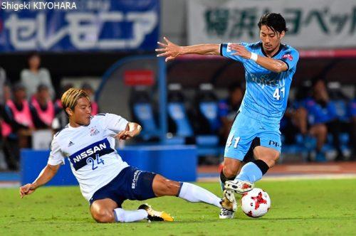 20170909 J1 Kawasaki vs YokohamaFM Kiyohara4
